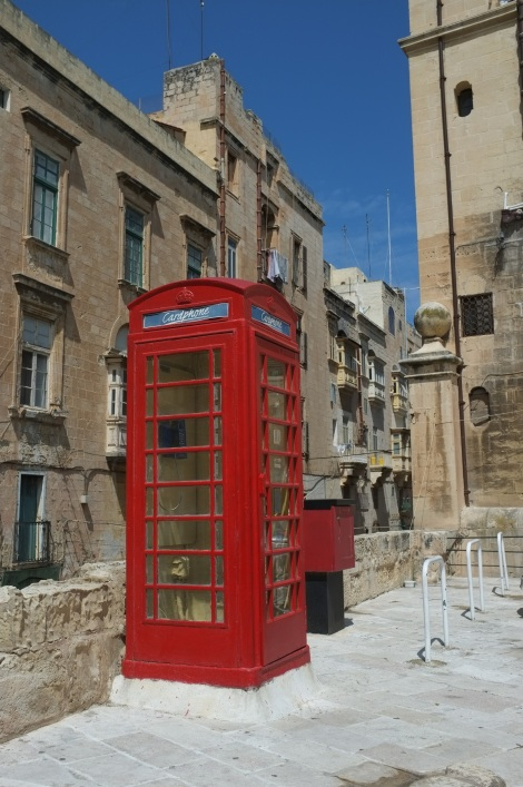 Malte cabine téléphone