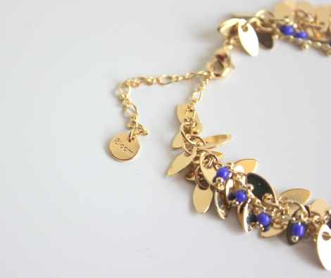 Bracelet Bahia bleu klein