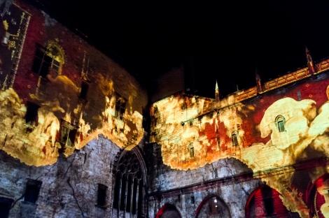 luminessences avignon palais des papes 2015
